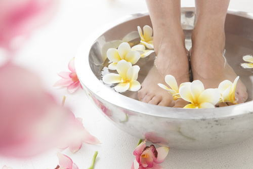 6.むくみを即効解決したい「脚浴」